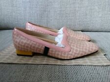Orla Kiely Clark's, Bella Floral Shoes, in pink, UK size 4, EUR 37, Retro