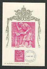 Vatican MK 1966 professioni fabbro Smith Maximum carta carte MAXIMUM CARD MC cm d5634