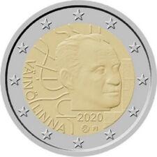 2 euros FInlande 2020 Väinö LEINNA UNC NOUVEAU!!!!!!!!!!!!!!!!!!