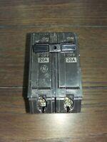 GENERAL ELECTRIC GE THQL2120 2 POLE 20 AMP BREAKER