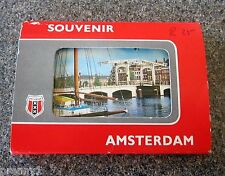 Beautiful Vintage 1960s Souvenir Photo Card Set, Amsterdam, Holland - 10 Views