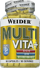 Weider BodyShaper Multi Vita + Special B-Complex 90 Kapseln (17,63 EUR/100g)
