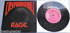 "Rage - Cry From A Hill UK Carrere 1983 7"" Single P/S"