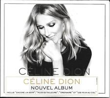 CD DIGIPACK 12T CÉLINE DION ENCORE UN SOIR 2016 NEUF SCELLE FRENCH STICKER