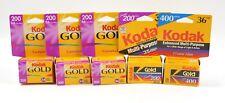 5) Kodak gold 200 / 400 35 mm