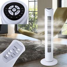Design Ventilateur Tour climat Minuteur type oscillant télécommande 3 étages