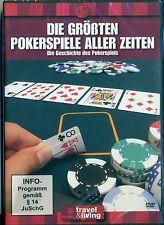 Die größten Pokerspiele aller Zeiten DVD, NEU,  FSK 0, Discovery, Poker, Karten