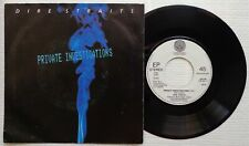 "DIRE STRAITS 'Private Investigations' 1982 Dutch 7"" / 45 vinyl single, VERSION 2"