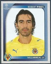 PANINI UEFA CHAMPIONS LEAGUE 2008-09- #527-VILLARREAL & FRANCE-ROBERT PIRES