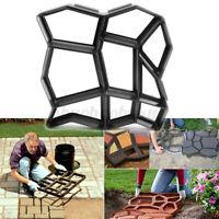 Floor Path Maker Mould Mold Reusable DIY Paving Durable Garden Lawn 17X17''