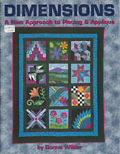 Dimensions New Approach to Quilt Piecing & Applique Pillow Wallhanging Placemat