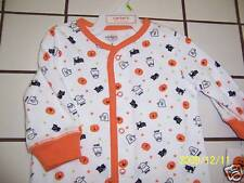 CARTER'S HALLOWEEN SLEEP N PLAY BABY INFANT BOY GIRL 3 MO. NWTS CUTE PUMPKIN