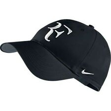 NEW Nike Hybrid RF Roger Federer Hat 371202-012 Black / White