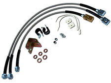 Jeep Cherokee XJ ZJ Wrangler YJ TJ Stainless Steel Extended Brake Line Kit WOW!