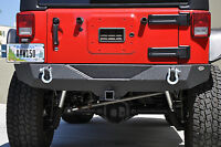 STUBBY-WIDTH HIGH CLEARNACE REAR BUMPER FOR WRANGLER JK | RBSTTB-04