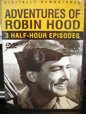 The Adventures of Robin Hood (DVD) 3 Half Hour Episodes WORLDWIDE SHIP AVAIL!
