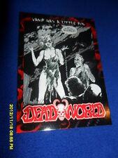 "2012 BREYGENT DEAD WORLD ZOMBIE CARD "" VAMP HAS A LITTLE FUN  "" #18"