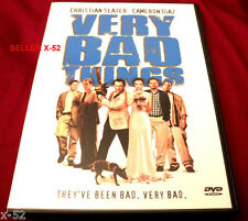 VERY BAD THINGS Jon Favreau CAMERON DIAZ Jeremy Piven KOBE TAI christ slater DVD