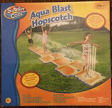 Banzai Aqua Blast Hopscotch Water Splash Pad Sprinkler Summer Toy NEW IN BOX