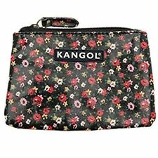 Kangol Floral Zip Zipped Purse Ladies Women Girls Flowers Wallet R651-9