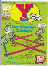 Yps Nr.24 von 1976 mit Bastelteil, die Indianer, Hector, Black Beauty - Comic