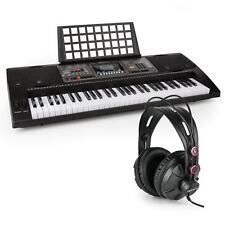 Teclado Aprendizaje + Auriculares Micrófono Función Grabación Reproductor MIDI