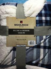 "Woolrich Throw. PLUSH to BERBER THROW.  50"" X 60"".  Reversible. Super Soft!"