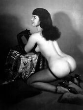 Bettie Page Sexy Pin Up Girl  8 x 10 Photo