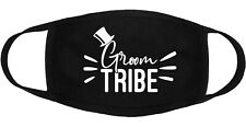 Groom Tribe Wedding - Face Mask Adult Youth Fashion 2 Layers Cotton Made in US