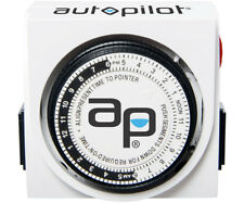 Autopilot Dual-Outlet Analog Grounded Timer 15A - 2 Pack Lot