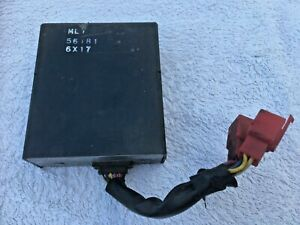 HONDA VFR750 FG FH RC24 86-87 CDI IGNITION BOX WITH 2 RED CONNECTORS GENUINE