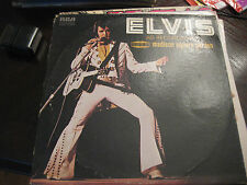 Elvis as Recorded at Madison Square Garden    on LP