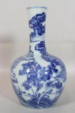 Antique Chinese Blue & White Vase.
