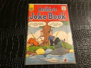 1961 ARCHIE JOKE BOOK comic book # 55 VG/F (FISHING COVER) 10C