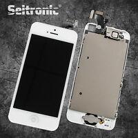 Display für iPhone 5 LCD VORMONTIERT KOMPLETT RETINA Touchscreen WEISS SEITRONIC