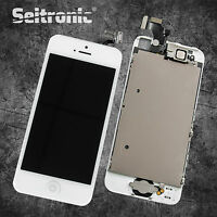 Display für iPhone 5 LCD VORMONTIERT KOMPLETT RETINA Touchscreen WEISS NEU