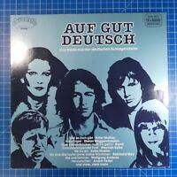 Auf gut Deutsch Das Beste aus der deutschen Schlagerszene Arcade ADEG125 LP42a