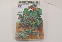 Tamiya WWII German Machine Gun Troops Military Miniatures 1/35 Model Kit New