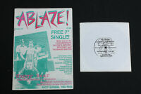 ABLAZE! Magazine  #10 with Free Four track vinyl EP  Excellent condition