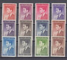 South Vietnam 1956 President Ngo Dinh Diem Full Set  MNH Luxe (White Gum)