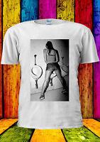 Be Different Women Peeing Funny T-shirt Vest Tank Top Men Women Unisex 1167
