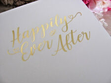 ~ Happily Ever After ~ White  Wedding Planner ~ Diary ~ Keepsake ~ Engagement