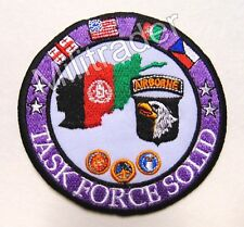 US Task Force Solid 101st Airborne Patch (Afghanistan)