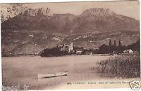 74 - cpa - DUINGT - Le château - Dents de Lanfon et la Tournette (H2495)