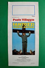 L09 LOCANDINA FANTOZZI PAOLO VILLAGGIO FANTOZZI SUBISCE ANCORA FRACCHIA