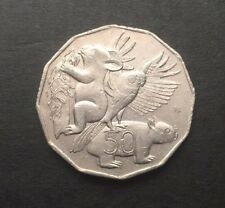 2004 AUSTRALIAN 50 CENT COIN - STUDENT DESIGN NATIVE ANIMALS