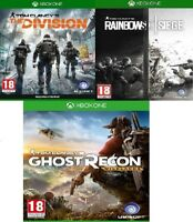 Xbox Tom Clancy's Rainbow Six Siege Assorted Xbox One MINT - Super Fast Delivery
