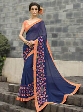 Party Wear Bollywood Sesigner Ethnic Georgette Saree with Blouse