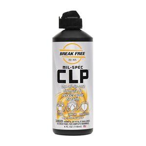 Break Free breakfree CLP 4 OZ bottle weapon gun oil Mil-spec