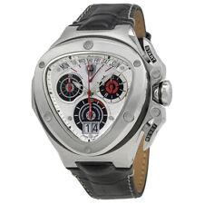 Lamborghini Spyder Silver Dial Mens Chronograph Watch 3009